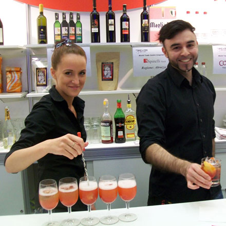 Вина из сердца Италии на Russian Bar Fair 2011