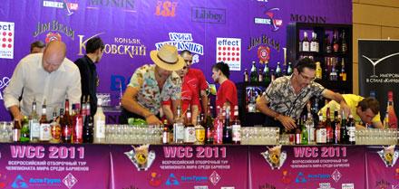 Лучшие бармены и новые рекорды на «Russian Bar Fair 2011»