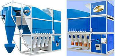 Установка САД, зерноочистительная машина, очистка зерна, сепаратор для очистки