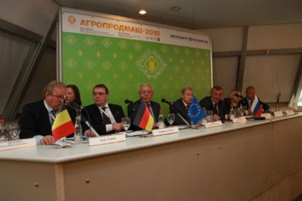 15-я международная выставка оборудования, машин и ингредиентов для пищевой и перерабатывающей промышленности «Агропродмаш-2010»