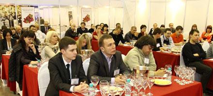 Мастер-класс: «Российские вина – у истоков новой европейской традиции» на выставке «Индустрия Напитков / Russian Wine Fair 2010»