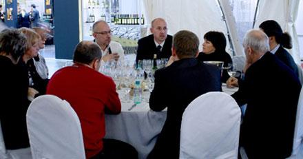 Мировая винная элита на Российском фестивале вина