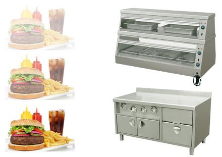 Станция промежуточного хранения для предприятий fast-food