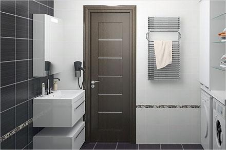 Двери для ванной – особенности выбора