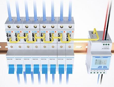 SPM20-D — многоканальный счетчик электроэнергии постоянного тока от компании Энергометрика