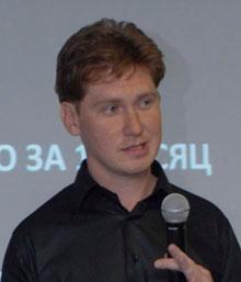 Михаил Орлов – представитель генерального партнера форума — компании «Торгмонтаж» и Группы компаний «АТОЛ»