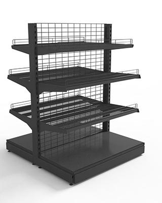 Торговое Оборудование Евромаркет, начато производство сетчатых стеллажей
