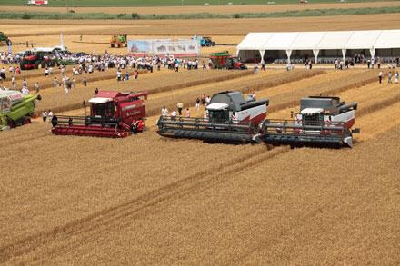 «Дни поля «ЮГАГРО» дадут старт жатве 2011 года