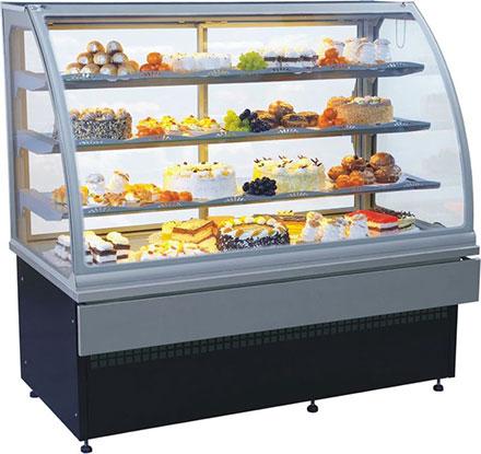 Ассортимент профессиональных холодильных витрин для торговых предприятий