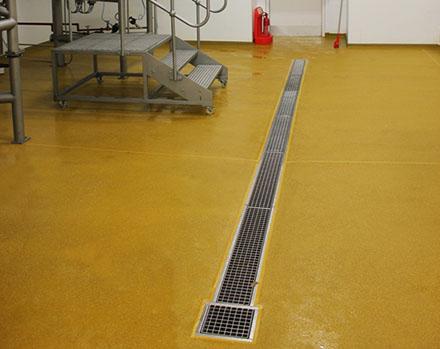 Системы водоотвода в пищевой промышленности