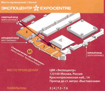 17-ая международная специализированная выставка для хлебопекарного и кондитерского рынка «Современное хлебопечение 2011»