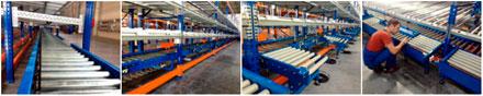 Автоматизированная конвейерная линия для комплектации (подбора) заказов на складе