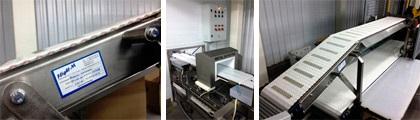 Автоматизированная конвейерная линия упаковки колбасных изделий