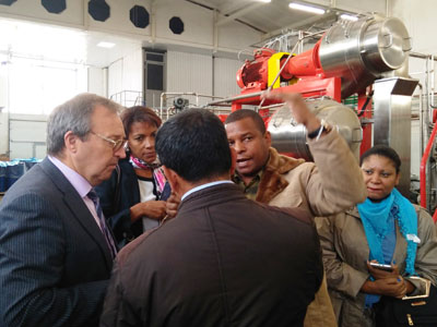 Встреча кубинской делегации с компанией «Флайт-М»