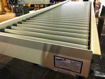 Рольганг и ленточный конвейер для компании «ONTEX»