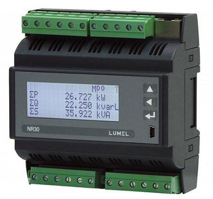 Компания «Энергометрика» предлагает функциональный трехфазный измеритель параметров электросети модели NR30