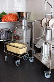 Режем капусту для квашения с RG-400 в промышленных масштабах