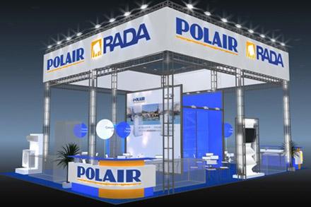 Экспозиция компании ПОЛАИР на выставке ПИР 2011
