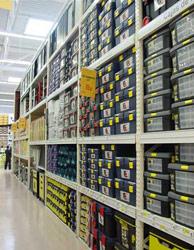 Глубинные складские стеллажи серии G50 производства компании Микрон