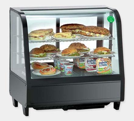 Настольные холодильные витрины модель RTW100L от KORECO