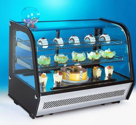 Настольные модульные холодильные и тепловые витрины RT от KORECO