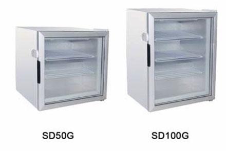 Шкафы морозильные барные KORECO SD50G/SD100G