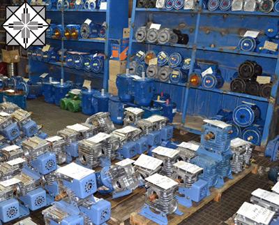 редукторы и электродвигатели