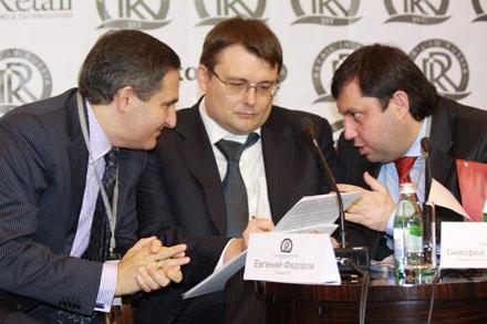 Лев Хасис, Евгений Федоров, Тимофей Нижегородцев