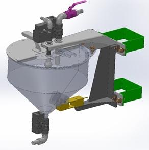 Два дозатора жидких компонентов с нестандартными характеристиками