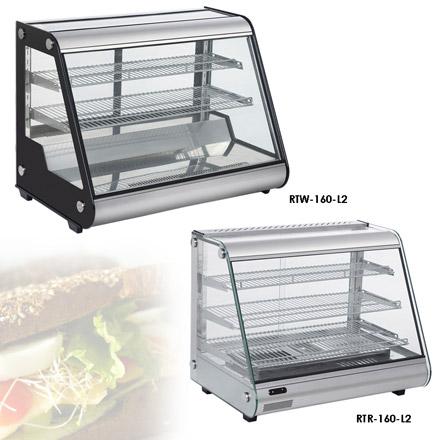 Витрины настольные, модульные, холодильные и тепловые RT L2