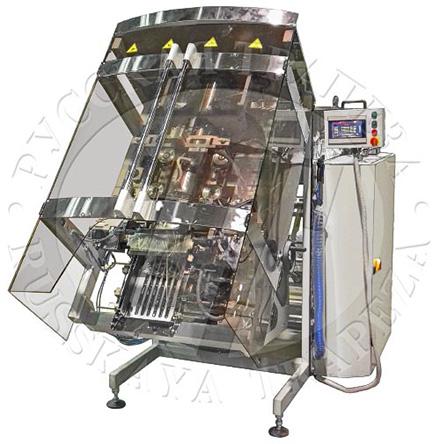 Упаковочный автомат Sbi-260-Sf – единственный упаковщик в линейке холдинга, имеющий наклонный корпус
