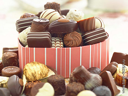 Тарталетки, пирожные, шоколадные конфеты ручной работы