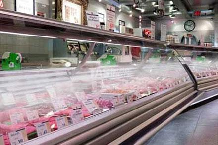 Системы увлажнения (орошения) рыбы на льду, фруктов-овощей, мяса и полуфабрикатов