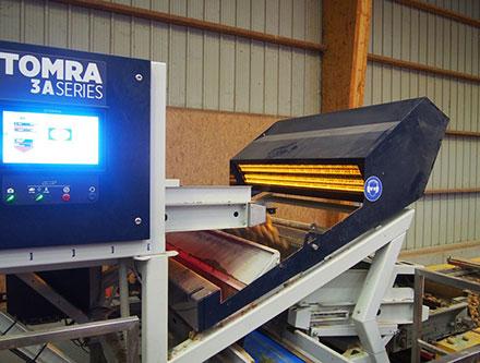 Машина для сортировки картофеля TOMRA 3A
