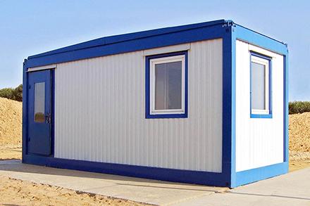 Бытовки для строителей, охранников, офисных работников стандартного, двухэтажного, распашного типа представлены в компании «Вагончики.Ру»