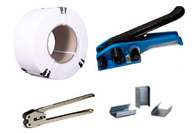 Виды упаковочного оборудования и материала, упаковочная лента