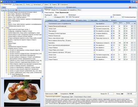 Программа Для Создания Технологических Карт Блюд