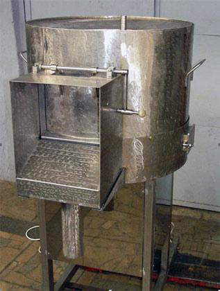 Машина очистительная для очистки рыбы от чешуи