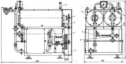 Охладитель жира - теплообменный аппарат, конструктивно состоящий из пары теплообменников и привода, хладоносителя...