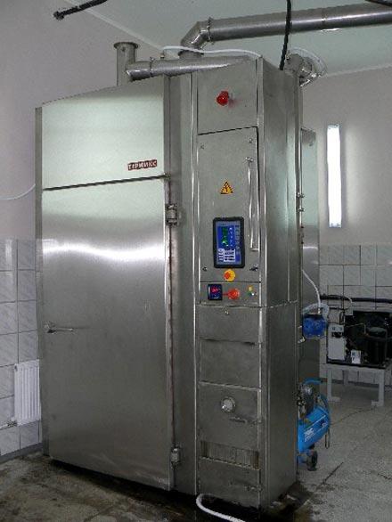 Оборудование холодного копчения