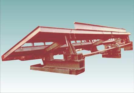 Автомобилеразгрузчик механический боковой РМБ (АВС 50М) передвижной наклонный транспортер