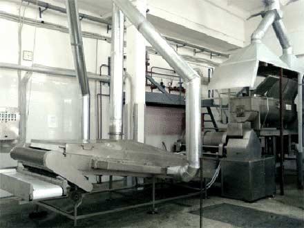 Конвейер подсушки транспортеры зерна нории
